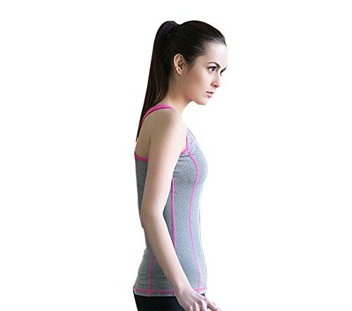 Muryobao Damen Unterhemd Sensation gray