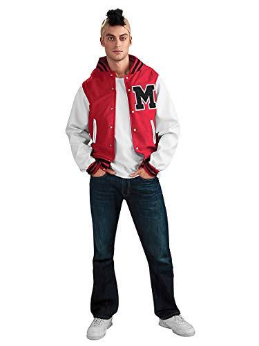 HRC Glee Puck Football Spieler Kostüm (X-Large)