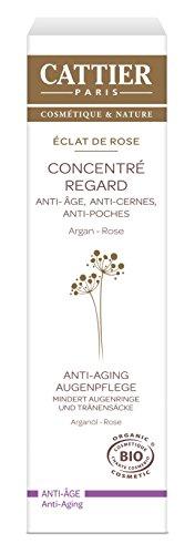 Cattier Éclat de Rose, Anti-Aging Augenpflege, 15 ml