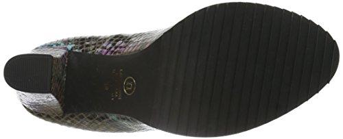 Noe Antwerp Nabla, Chaussures à talons - Avant du pieds couvert femme Multicolore - Mehrfarbig (ABYSS)