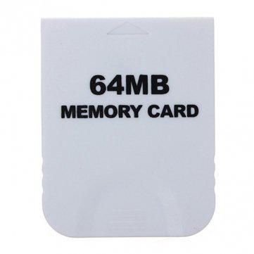 Preisvergleich Produktbild High Quality 64 MB Speicherkarte für Nintendo Wii Weiß