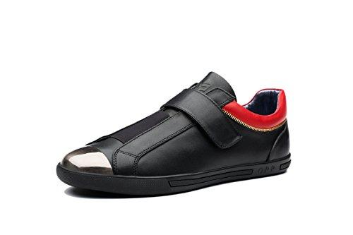 OPP Mode Chaussures en Cuir Basses Basket Homme