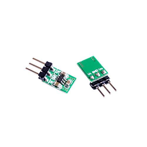 DIYUKMALL Mini 2 in 1 DC DC Step-Down & Step-Up Converter 1.8V-5V to 3.3V Power for Arduino WiFi Bluetooth ESP8266 HC-05 CE1101 LED Module