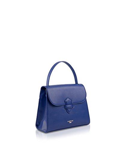 pomikaki , Damen Henkeltasche blau blau Blau