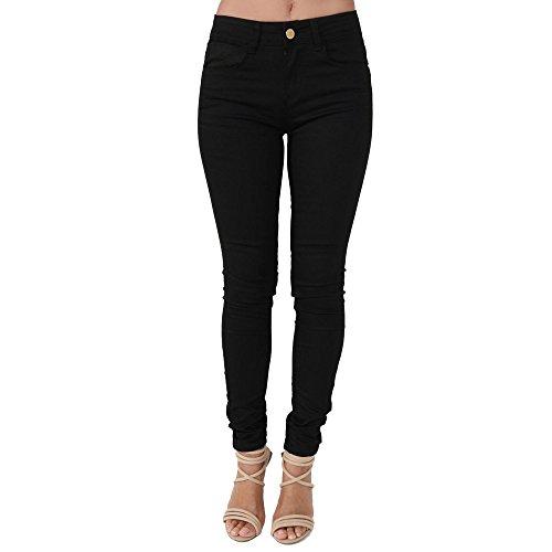 sco-new-womens-ladies-super-skinny-fit-mid-rise-denim-jeans-8-black