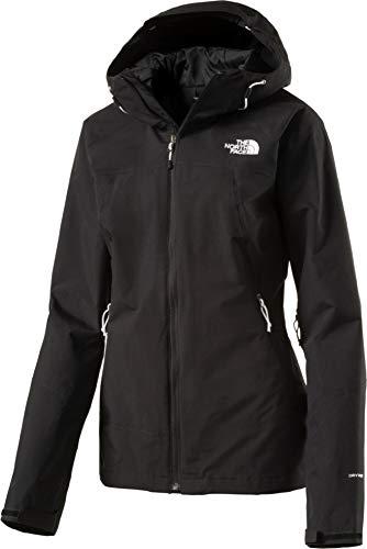 The North Face Damen Regen/Shell-jacke Hortons Regenjacke, schwarz, L North Face Womens Coat