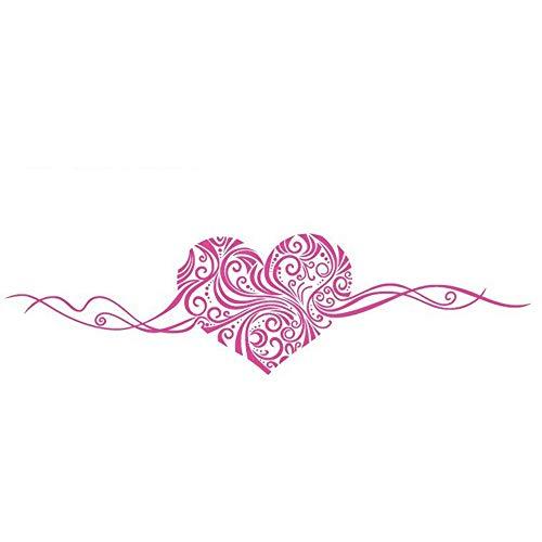 LBTKM Wandaufkleber Grösse: 150 X 40 Cm Romantische Herz Entfernbare Wandaufkleber Hauptdekorwandkunst Liebe Hochzeitsdekoration Mittelstücke Familie Aufkleber, 3