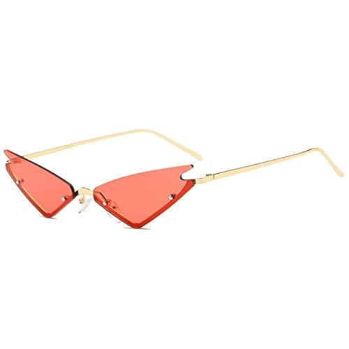 WYJW Für Mädchen \u0026 Damen Vintage Mod Style Clout Brille Sonnenbrille 1950 'Metallrahmen verspiegelte Linse Bonbonfarben