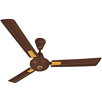 Luminous Krazy 1200mm 70-Watt High Speed Ceiling Fan (Coffee Brown)