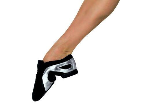 Bloch , Chaussures de danse pour homme Multicolore - blanc/argent