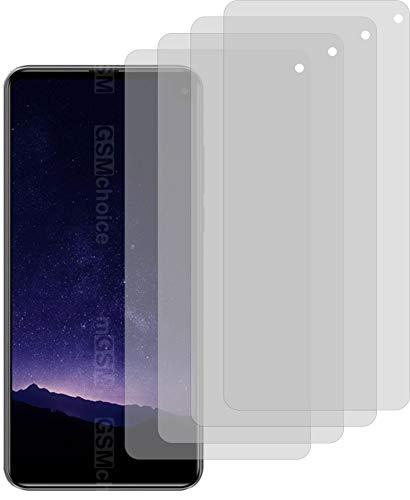 4X ANTIREFLEX matt Schutzfolie für Cubot Max 2 Bildschirmschutzfolie Displayschutzfolie Schutzhülle Bildschirmschutz Bildschirmfolie Folie