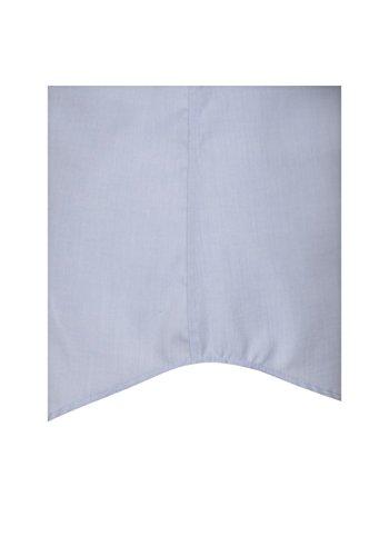 Seidensticker - Herren Hemd, Bügelfrei, Tailored, Schwarze Rose mit Kent Kragen in Blau mit Halbarm (01.022001) Hellblau(15)