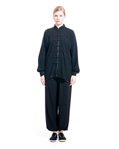 Fabricado en el origen de Tai Chi, es decir, Chen Village en Honan provincia, este tipo de ropa es uno de los estilos más tradicional ropa de Tai Chi. Su material que es alta calidad algodón no sólo proporciona una gran sensación de suavidad y flexib...