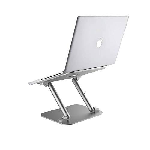 Urbo Z-förmiger Laptopständer mit anpassbaren Blick- und Neigungswinkeln zur Erhöhung von Projektoren und Laptops, Notebooks oder Tablets von Apple, Acer, Samsung etc.