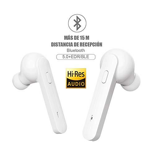 Auriculares Bluetooth,Auriculares inalámbricos Johnbee Bluetooth 5.0