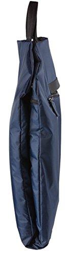 SkyHanger Degeler - Funda para trajes, plegable e impermeable, ideal para viajes de avión con equipaje de mano - azul