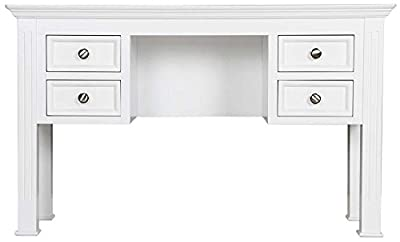 Ultimum Royal Elegance White Dressing Table - inexpensive UK light shop.