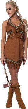 Imagen de stekarneval  disfraz de india sexy para mujer, talla uk 12  14 641740