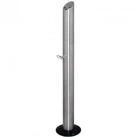 Bolero cg045Boden Stehend Smoker 's Pole, Silber