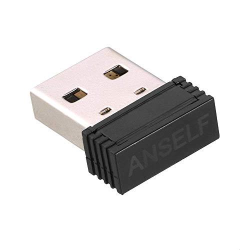 Anself ANT + Stick USB per Forerunner 310XT 405 410 610 910XT Compatibile con CycleOps Trainer Virtuale Sunnto Guardare Zwift TrainerRoad PerfPRO Studio