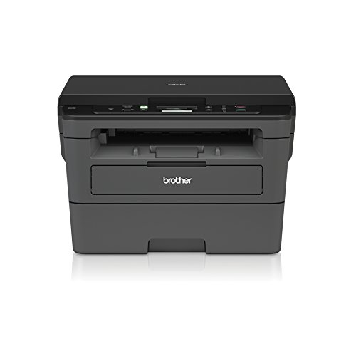 Brother DCP-L2530DW Kompaktes 3-in-1 S/W-Multifunktionsgerät (Drucken, Scannen, Kopieren, A4, Echte 1.200x1.200 DPI, Duplexdruck, 250 Blatt Papierkassette, USB 2.0, WLAN) (Laser-brother All In One)