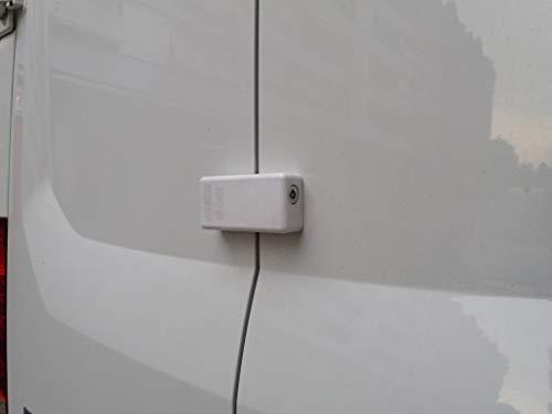 1 Unidad Cierre de Seguridad Candado Cerradura Puertas Furgonetas (Modelo Manual A20) MADE IN SPAIN