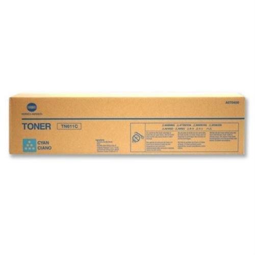 Konica Minolta Toner TN611C für C451/C550/c650, A070450, cyan (Konica Minolta Bizhub C650)
