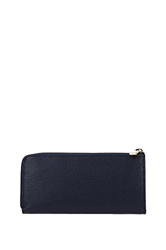 Furla Babylon Xl Zip Around L, Portefeuille Blue (Navy B)