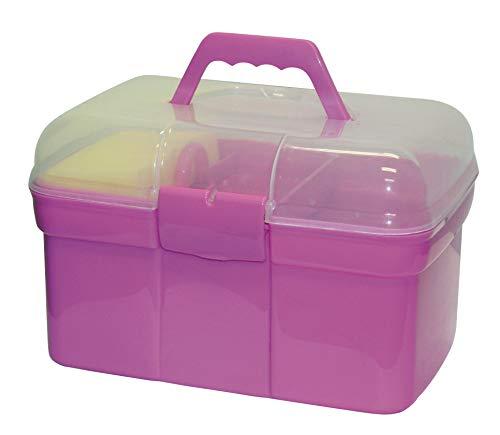 Kerbl 321766 Pferde- Putzbox befüllt für Kinder, rosa (Spielzeug Für Pferde Pferd)
