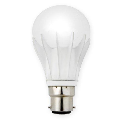 Bosse G2691-B22-WW B22 Lampe à ampoule DEL A19 longue durée Blanc chaleureux 6 W
