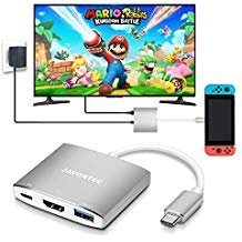 JAVONTEC USB C HDMI Hub Dock Nintendo C | Offer of the day