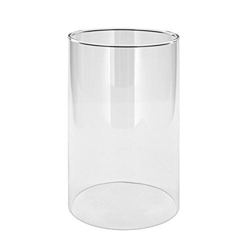 Fink 127075 Bardo - Windlichtaufsatz - Glas - klar - Höhe 20cm - Ø 12cm