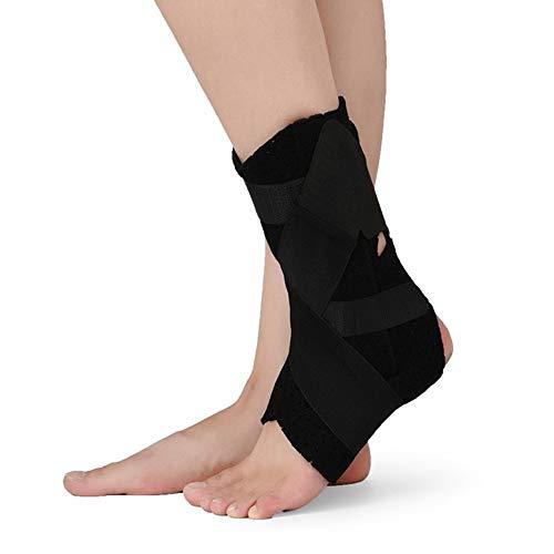 WY- SPLINTS Fußbandage - Sprunggelenkbandage - Plantarfasziitis mit Nachtschiene zur Behandlung - Lindert effektiv Fasziitis und den richtigen Stretchfuß für Sehnen,S:EU28-31
