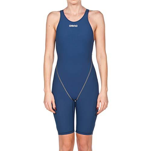 arena Damen Badeanzug Wettkampfanzug Powerskin ST 2.0 (Perfekte Kompression, Minimierter Wasserwiderstand), Navy (75), 32 -