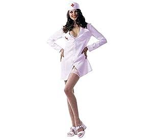 Rubies - Disfraz de enfermera sexy para adultos (20202)