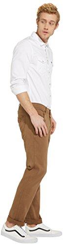 Wrangler Herren Jeans Greensboro Freewheelin Beige (Safari Khaki 8C)
