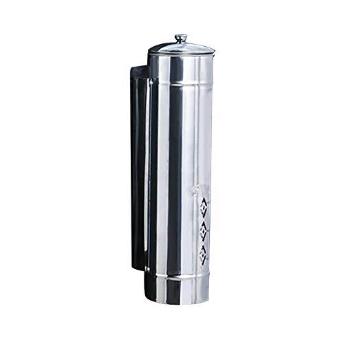 cherspender, Edelstahl-Wandmontage Pull-Typ Getränkebecher Safe Coffee Drink Cup Dispenser ()