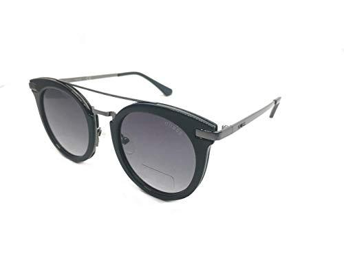 9f2123d607 Guess Sunglasses Gf6046 01B 49 Gafas de Sol, Negro (Schwarz), Mujer