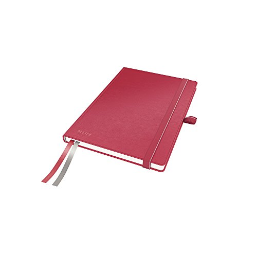 Leitz 44780025 Complete Notizbuch, A5, liniert, rot