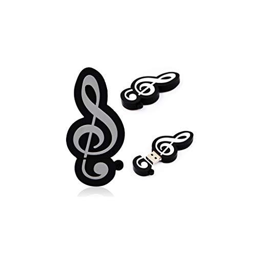 As de trebol - chiavetta usb a forma di nota musicale, 4 gb