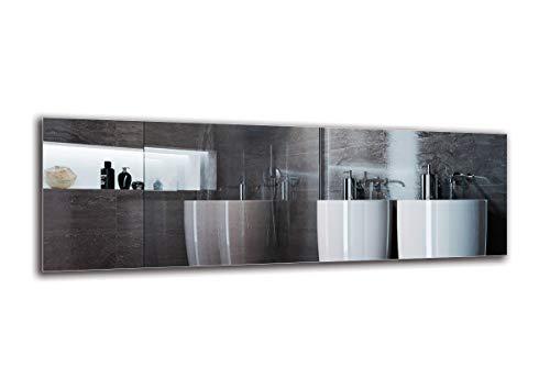 Espejo LED Premium - Dimensiones del Espejo 180x60 cm - Espejo de baño con iluminación LED - Espejo...