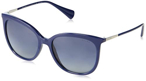 Ray-Ban Damen 0RA5248 Sonnenbrille, Blau (Blue Solid), 56