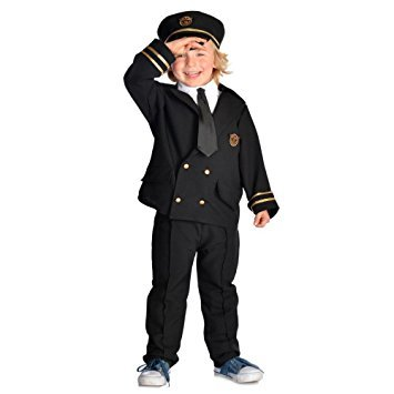 Airline Pilot - Kids Costume 5 - 7 ()