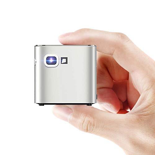 Mankvis Mini proyector Inteligente portátil Micro teléfono móvil proyector...