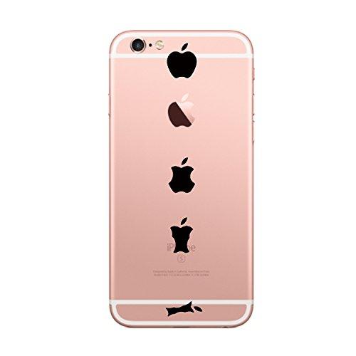 Yimier iPhone 6S Hülle, Transparentes TPU Case Silikon der Tiere Backcover Handyhülle Kreatives Design Panda Muster Bedecken Zurück für Apple iPhone 6/6s 4,7 Zoll (Apfel)