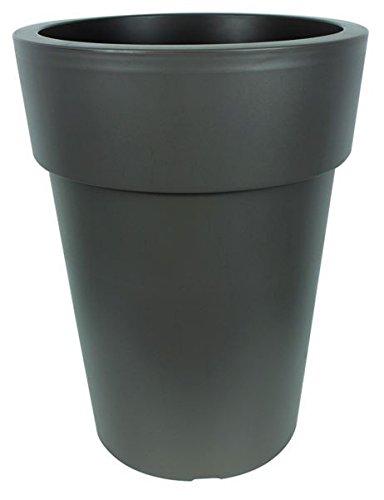 Vaso per piante fioriera vaso XL Round vaso da fiori alto forma altezza 60cm