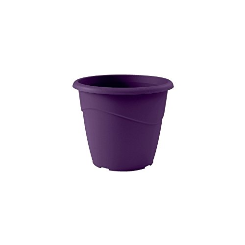 EDA Pot rond non percé Marina Ø 35cm - Contenance 16l - Prune