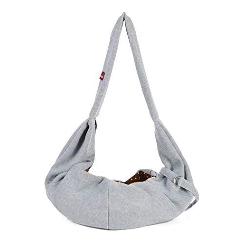 Eleusine Handsfree Reversible Kleine Hund Katze Sling Tragetasche Travel Tote Weiche Bequeme Doppelseitige Tasche Schulter Tragen Handtasche (Stil 1) - Tote Stil Schulter Tasche