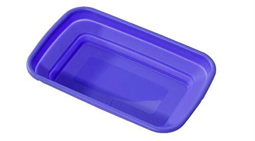 MICHELLEZH Faltbare Aufbewahrungsbox Auto Instrumententafel Silikon Aufbewahrungsbox öffnen kleine blau lila Würfel Lagerung Korb (8er Pack) (Lila Lagerung Würfel)