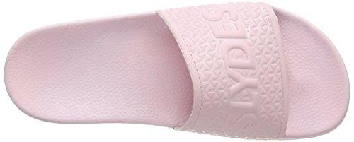 Slydes Damen Cali F Sandalen Pink (Powder Pink)